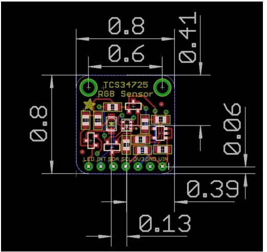 Basic Dimensions adafruit-color-sensors.pdf - Opera