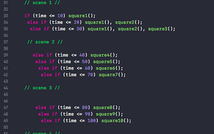 in-code timing