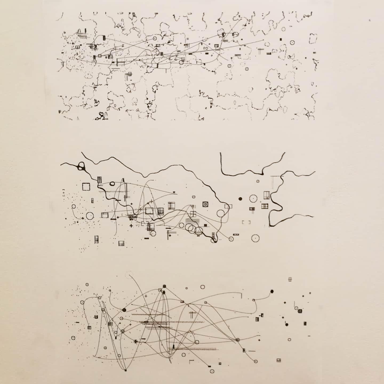 A cartography of the inside out by Jakob Jennerholm Hammar