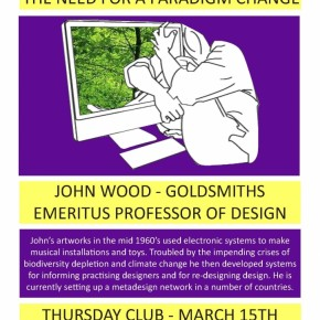 15 March 2012- The need for a paradigm change - Emeritus Professor John Wood