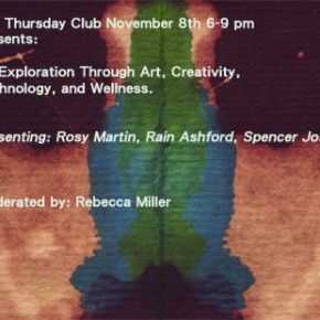 8 November 2012 - An exploration through Art-Creativity-Technology & Wellness