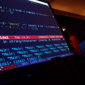 13 May 2014 - Special Event - Sonic Pattern and the Textility of Code -